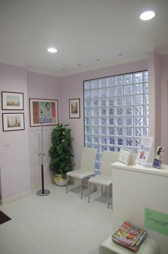 Sala d'attesa studio odontoiatrico Dr. Enrico Lettera